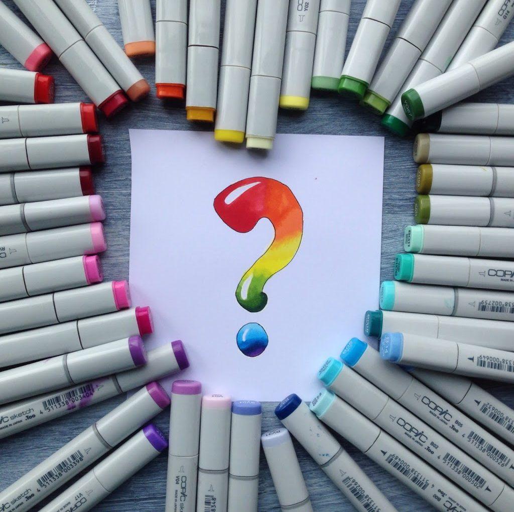Какие цвета маркеров Copic выбрать для начала.